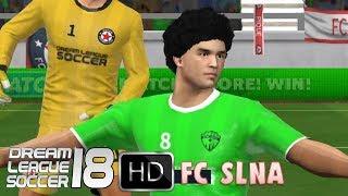 vs. FC SLNA | Dream League Soccer 18 Online | New challenge in Division 2