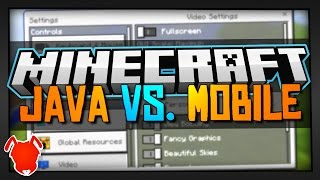 Repeat youtube video WILL POCKET EDITION REPLACE MINECRAFT JAVA?