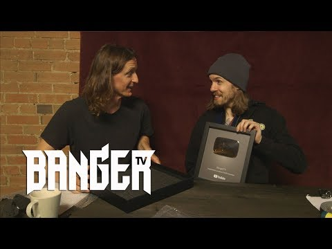 Unboxing our YouTube Silver Creator Award! + Thank You