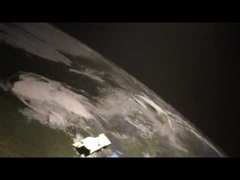 Satellite Display at Bishop Museum