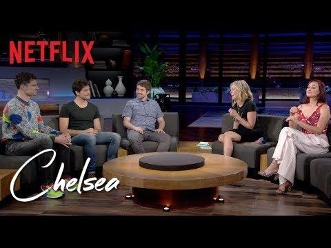 Mamrie Hart, Smosh and Chelsea React to Flula Borg's Origin Story   Chelsea   Netflix