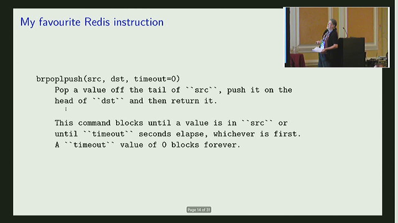 Image from Redis: persistent collections as a service (and for fun)
