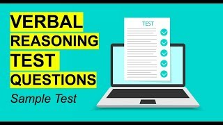VERBAL REASONING TEST Questions & Answers! (Tips, Tricks and Questions!) screenshot 4