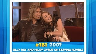 #TBT Billy Ray and Miley Cyrus on Staying Humble thumbnail