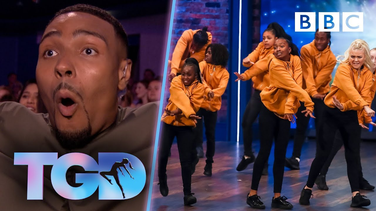 Download The audience erupts for fiery Prospects Fraternity 🔥 🚒 - The Greatest Dancer | Auditions