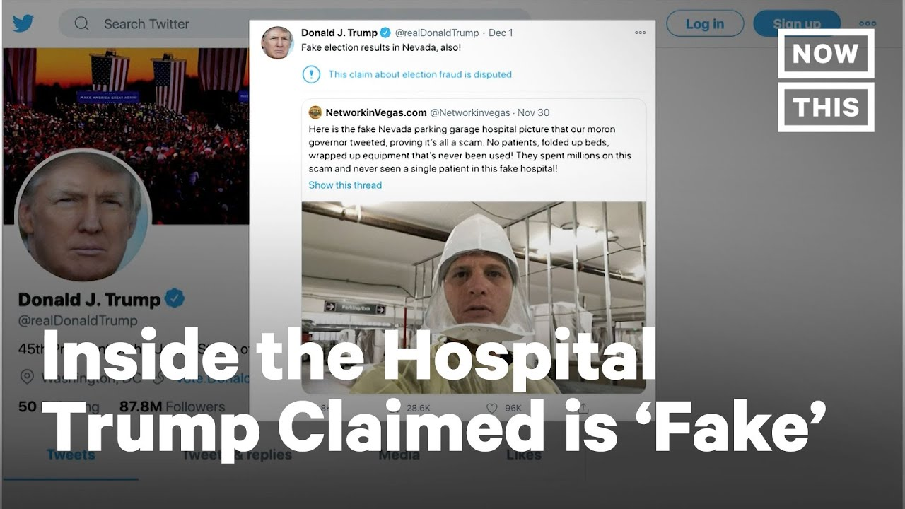 CNN Goes Inside Hospital Trump Called 'Fake' and 'A Scam' | NowThis