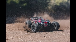 ARRMA 2018 1/8 KRATON 6S BLX Brushless 4WD RTR Red/Blk Video