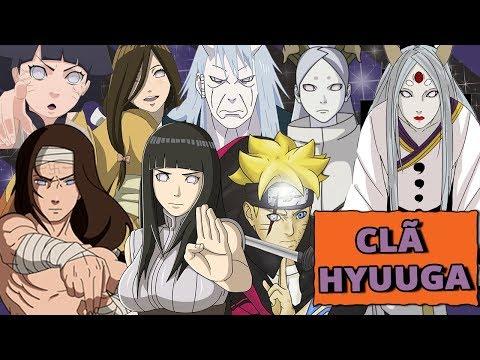 HISTORY OF THE HYUUGA CLAN