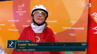 JO 2018 : Ski acrobatique - Saut à ski femmes. Hanna Huskova, la surprise du chef