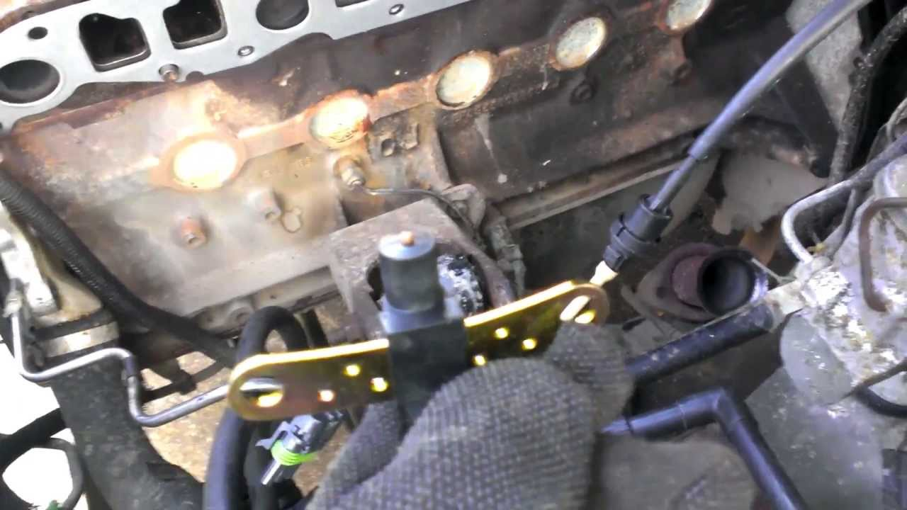 89 Cherokee New Cps Temp Knock And Map Sensors Youtube