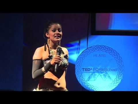 Belly dancing | Mohnaa Shrivastava | TEDxFORESchool