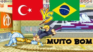 SF2 CE ► fatihozyolu vs Caution rematch 4 ► street fighter 2 champion edition, sf2ce, sf2, sf2ce.zip
