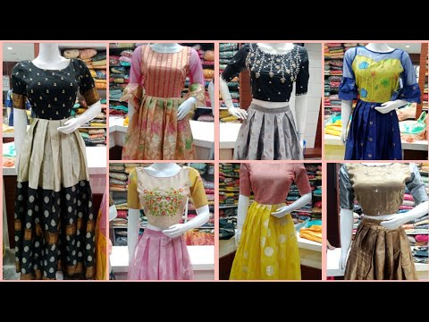 Latest Designer Wear Frocks And Crop Tops Collection   With Price And Address   Kukatpally,Hyderabad