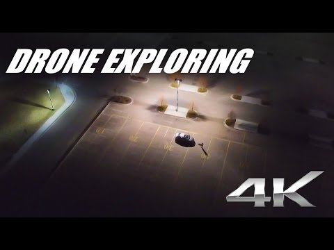 Download Youtube: Abandoned parking lot exploring with drone in 4K