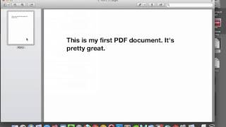 Combine PDF Files in Preview thumbnail