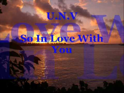 U.N.V - Im so in love with you