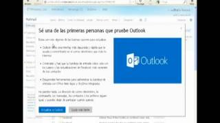 Actualizar Hotmail a Outlook