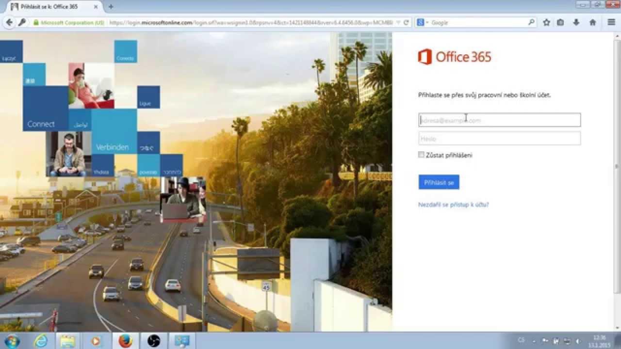 office 365 přihlášení