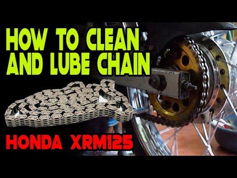 Pano mag linis at mag lube ng kadena | Honda XRM125