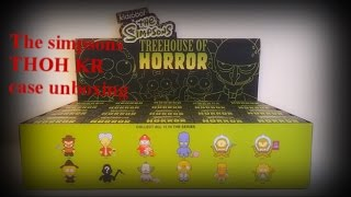Simpsons Treehouse Of Horror Kidrobot Case unboxing.