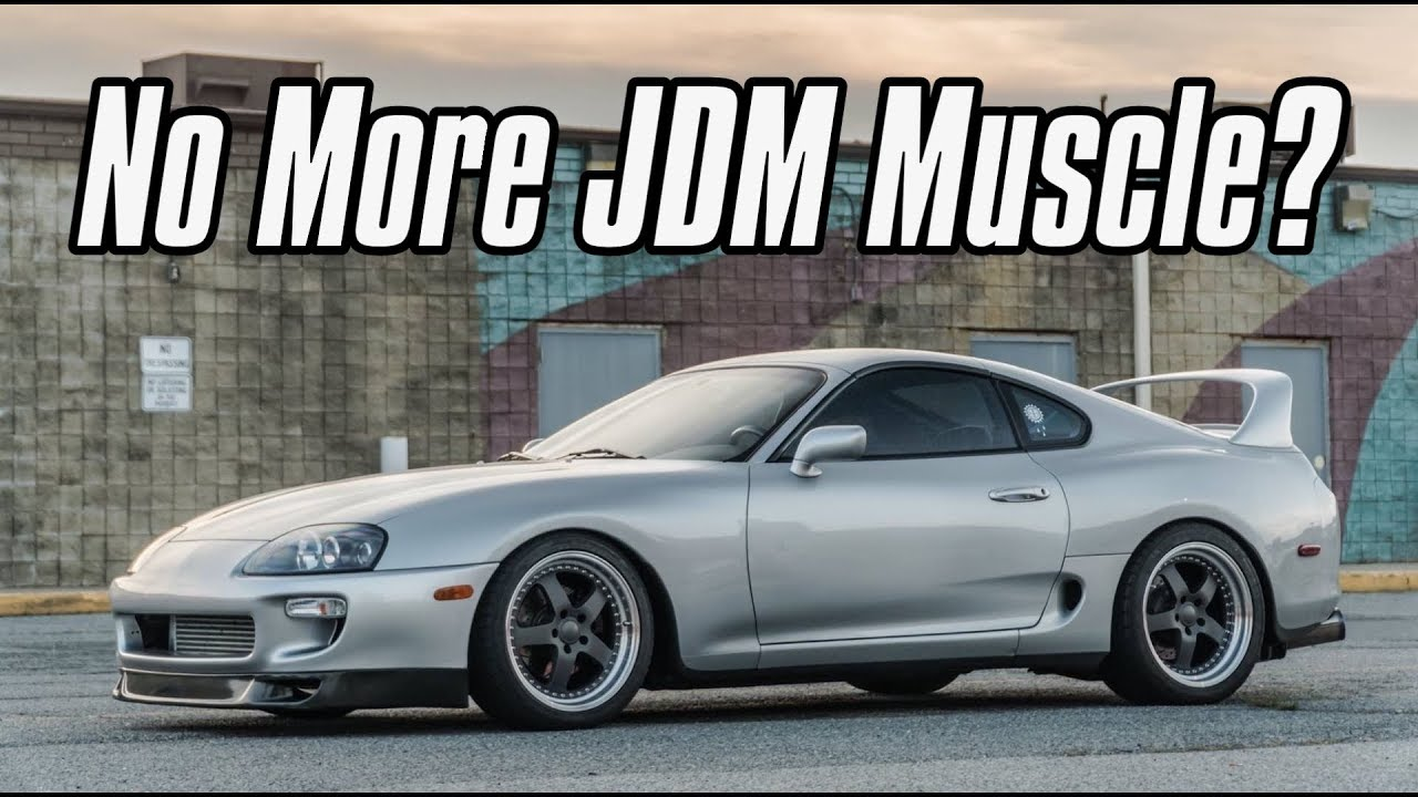 What Happened To JDM Muscle Cars! - YouTube
