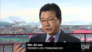 Looking ahead to Pyeongchang 2018   CNN News interview