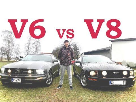 Сравнительный Обзор Ford Mustang 4.0 V6 VS 4.6 V8 GT