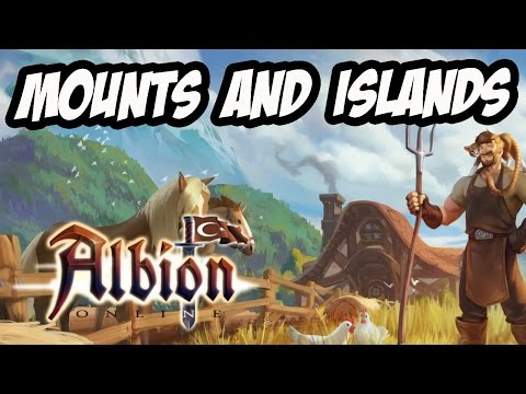 ALBION ONLINE - Mounts Farming and Islands - Beginners Guide