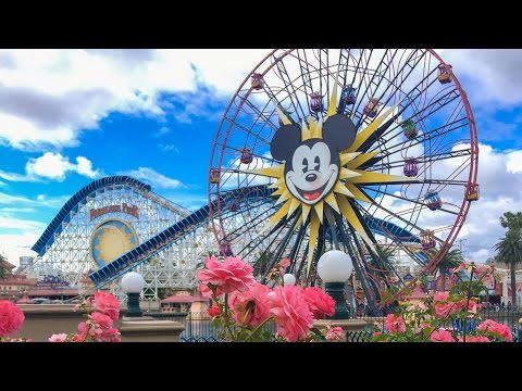 A Day at Disney California Adventure!!! | Disneyland Vlog #1