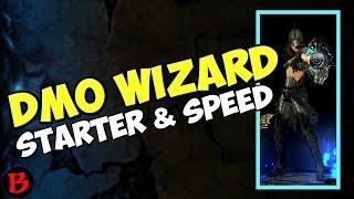 diablo 3 wizard dmo starter speed build 2 5 season 10