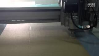 Aokecut@163.com Corrugated Board Cutting Plotter Sample Maker Cutter Table Machine
