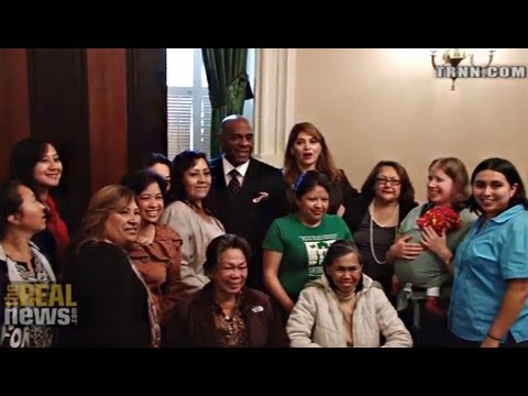 California Domestic Workers Demand Bill of Rights