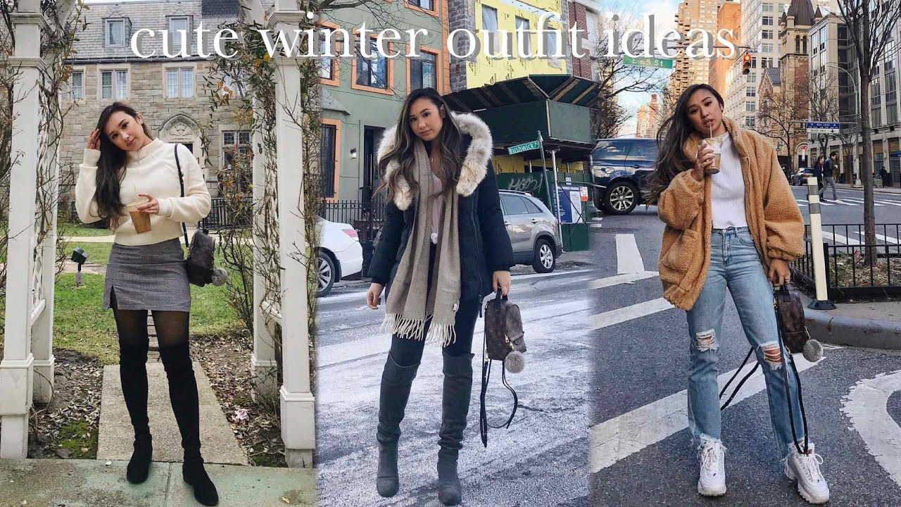 HOW TO LOOK CUTE IN THE WINTER ❄️ (WINTER OUTFIT IDEAS) | heycarmen 5