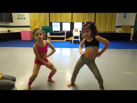5 and 6 year old practice duet. Teen beach movie That's How We Do.