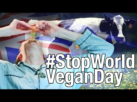 #StopWorldVeganDay