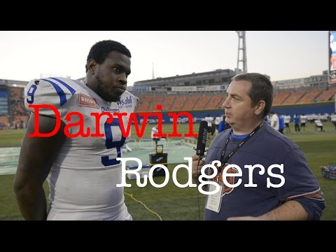 Darwin Rodgers Post Game Interview (Challengers -v- Frontiers) 2016 Nov 12