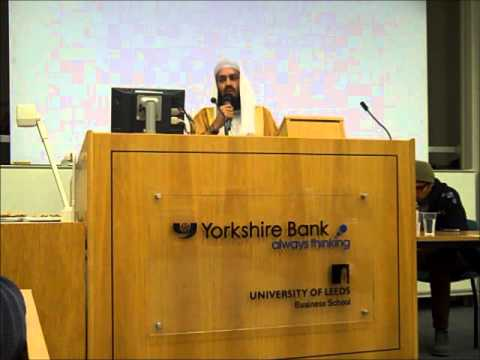Mufti Ismail Menk - Win the Battle Against Temptation - Leeds University ISoc