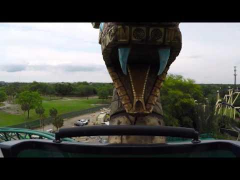Cobra's Curse - Lift Preview | Busch Gardens Tampa Bay