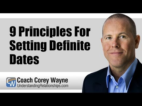 9 Principles For Setting Definite Dates