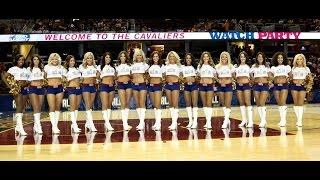 2015 NBA Finals Game #6 - Cavaliers Girls Performance