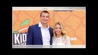 Rob Gronkowski's Girlfriend Camille Kostek Jokes About Getting Quality Time With Her Man