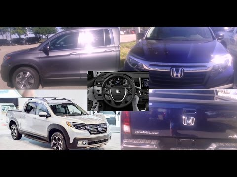 New 2017 Honda Ridgeline Pickup Truck V6 Cost MSRP Colors MPG Bed Length AWD RT RTS RTX Financing