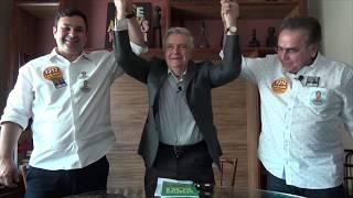 Ariosto Holanda apoia Leônidas Cristino