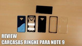 Review Carcasas Ringke para Samsung Note 9