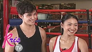 Kris TV: Kris and JaDine go fit and fab with boxing