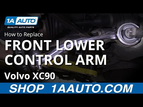 How to Replace Front Lower Control Arm 02-14 Volvo XC90