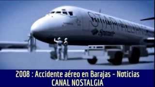 Un paseo por el tiempo : Accidente de Spanair en Barajas en 2008 - Investigación