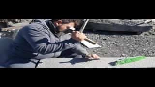 Mestieri antichi: lo scalpellino dell'Etna che modella la pietra lavica