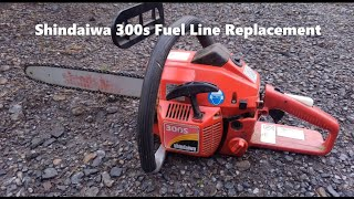 Shindaiwa 300s fuel line replacement