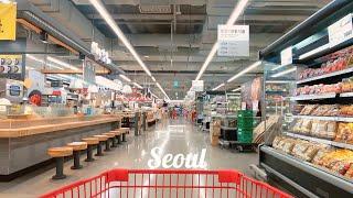 서울 대형 수퍼마켓 롯데마트   Lotte Mart, …